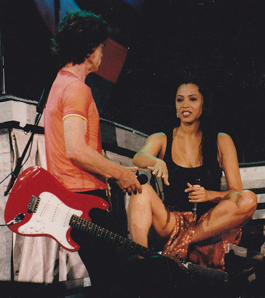 lisa fischer and mick jagger relationship