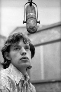 Mick Jagger RCA studios Hollywood USA December 1965