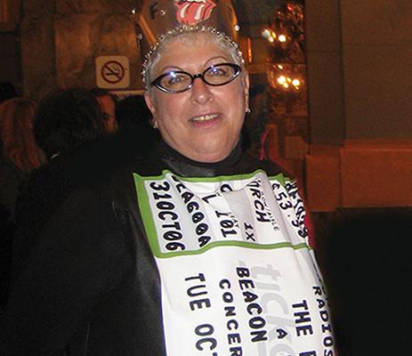 Shelley Lazar, Stones Ticket Queen, Ends Her Reign: RIP MFTQ
